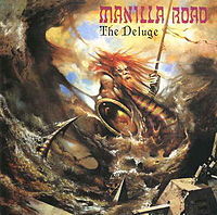 Обложка альбома Manilla Road «The Deluge» (1986)