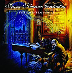 Обложка альбома Trans-Siberian Orchestra «Beethoven's Last Night» (2000)