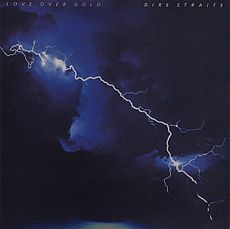 Обложка альбома Dire Straits «Love over Gold» (1982)