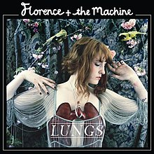 Обложка альбома Florence and the Machine «Lungs» (2009)