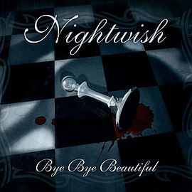 Обложка сингла Nightwish «Bye Bye Beautiful» (2008)