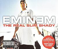 Обложка сингла «The Real Slim Shady» (Eminem, 2000)