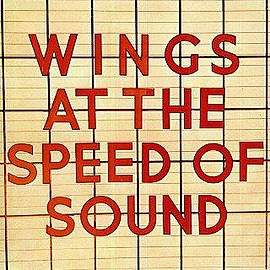 Обложка альбома Wings «Wings at the Speed of Sound» (1976)