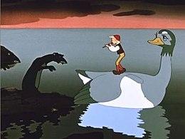 Кадр из мультфильма «Заколдованный мальчик»
