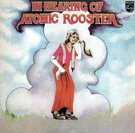 Обложка альбома Atomic Rooster «In Hearing of Atomic Rooster» (1971)