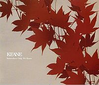 Обложка сингла «Somewhere Only We Know» (Keane, (2004))