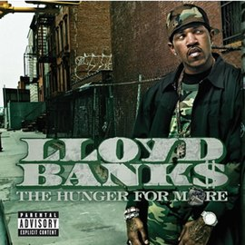 Обложка альбома Lloyd Banks «The Hunger for More» (2004)