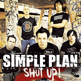 Обложка сингла Simple Plan «Shut Up!» (2005)