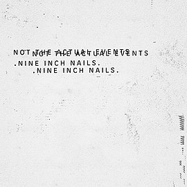Обложка альбома Nine Inch Nails «Not the Actual Events» (2016)