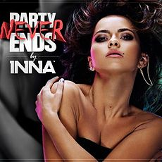 Обложка альбома Инны «Party Never Ends» (2013)