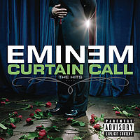 Обложка альбома Eminem «Curtain Call: The Hits» (2005)