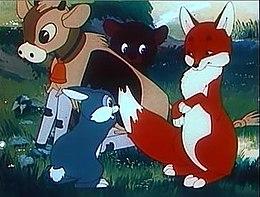Кадр из мультфильма «Соломенный бычок»