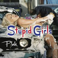 Обложка сингла «Stupid Girls» (P!nk, 2006)