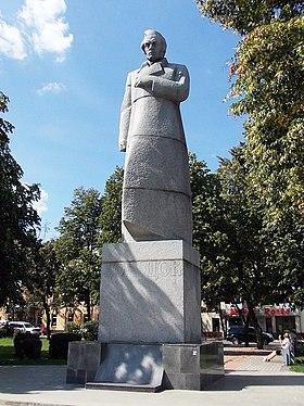 Памятник Кольцову (Воронеж, Советская площадь).jpg