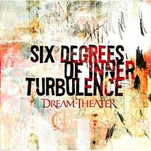Обложка альбома Dream Theater «Six Degrees of Inner Turbulence» (2002)