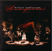 Обложка альбома Within Temptation «An Acoustic Night at the Theatre» (2009)