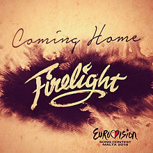 Обложка сингла «Coming Home» (Firelight, 2014)