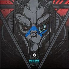Обложка альбома  «Mass Effect Trilogy Vinyl Soundtrack» ({{{Год}}})