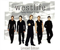Обложка сингла «Flying Without Wings» (Westlife, 1999)