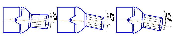 Управление вектором тяги