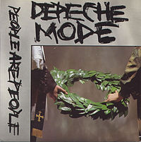 Обложка сингла «People Are People» (Depeche Mode, 1984)