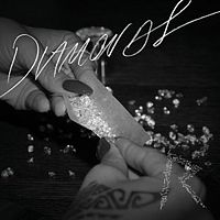 Обложка сингла «Diamonds» (Рианны, 2012)