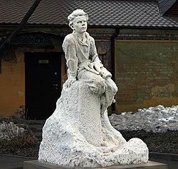 Нижний Новгород. Памятник Алёше Пешкову.jpg