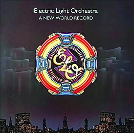 Обложка альбома Electric Light Orchestra «A New World Record» (1976)