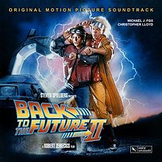 Обложка альбома  «Back To The Future II» (1989)
