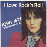 Обложка сингла «I Love Rock 'n' Roll» (Joan Jett & the Blackhearts, 1982)