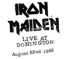 Обложка альбома Iron Maiden «Live at Donnington» (1993)