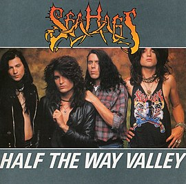 Обложка сингла Sea Hags «Half the Way Valley» (1989)