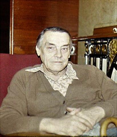 Арсений Тарковский в Переделкино