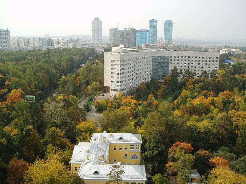 Фото: вид на северо-западную часть Щукина