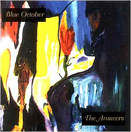 Обложка альбома Blue October «The Answers» (1998)