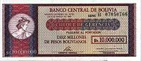 BoliviaP201-10Bolivianos-on-10.000.000PesosBolivianos-(1987) f.JPG