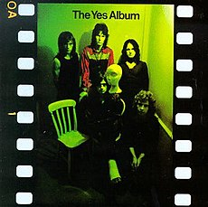 Обложка альбома Yes «The Yes Album» (1971)