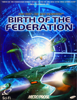 «Star Trek Birth of the Federation» 1999.png