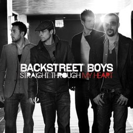 Обложка сингла Backstreet Boys «Straight through my heart» (2009)