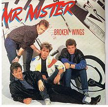 Обложка сингла «Broken Wings» (Mr. Mister, 1985)