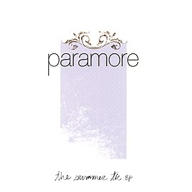 Обложка альбома Paramore «The Summer Tic» (2006)