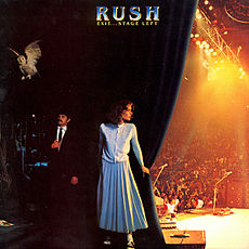 Обложка альбома Rush «Exit…Stage Left» (1981)
