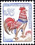Марка Французской Республики с изображением петуха.jpg