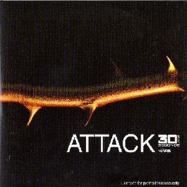 Обложка сингла 30 Seconds to Mars «Attack» (2005)
