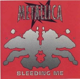 Обложка сингла Metallica «Bleeding Me» (1997)