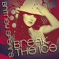 Обложка сингла «Break the Ice» (Бритни Спирс, 2008)