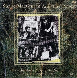 Обложка альбома Shane MacGowan and The Popes «Christmas Party» (1996)