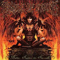Обложка альбома Cradle of Filth «Bitter Suites to Succubi» (2001)
