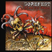 Обложка альбома Gorefest «Rise to Ruin» (2007)