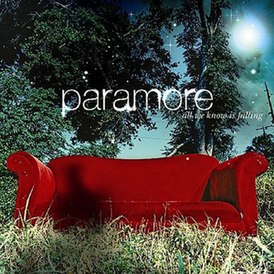 Обложка альбома Paramore «All We Know Is Falling» (2005)